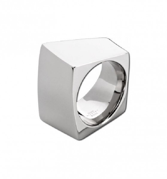 Square Line Ring